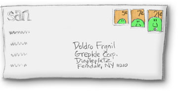 Envelope From San